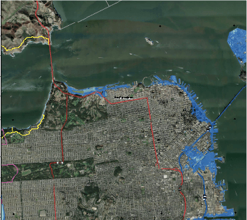Severe Inundation Predicted for San Francisco Coastlines Potrero